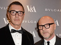 Gabbana says he has no plans to boycott Elton John's music as he previously said.