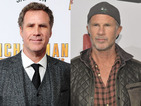 See Will Ferrell and Red Hot Chili Peppers drummer play Rolling Stones