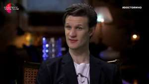 Matt Smith pays tribute to Doctor Who's loyal fans