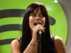 Lily Allen Spotify acoustic session.