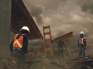 X-Men interactive timeline: 17/25 Colossus at Golden Gate Bridge