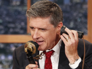 Craig Ferguson hosting The Late Late Show