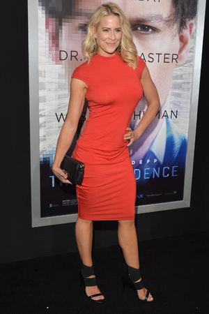 WESTWOOD, CA - APRIL 10: Actress Brittany Daniel attends the premiere of Warner Bros. Pictures and Alcon Entertainment's 'Transcendence' at Regency Village Theatre on April 10, 2014 in Westwood, California. (Photo by Lester Cohen/Getty Images)