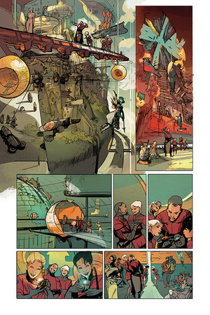 Remender and Tocchini's Low