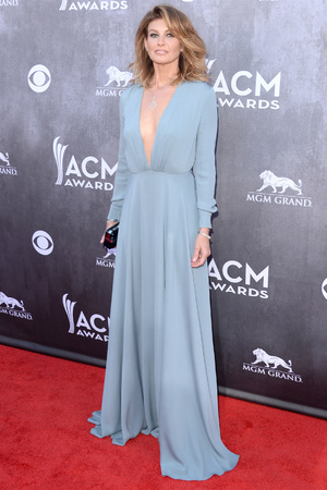 Caption:LAS VEGAS, NV - APRIL 06: Singer Faith Hill attends the 49th Annual Academy Of Country Music Awards at the MGM Grand Garden Arena on April 6, 2014 in Las Vegas, Nevada. (Photo by Jason Merritt/Getty Images)