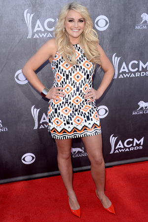LAS VEGAS, NV - APRIL 06: Singer Jamie Lynn Spears attends the 49th Annual Academy Of Country Music Awards at the MGM Grand Garden Arena on April 6, 2014 in Las Vegas, Nevada. (Photo by Jason Merritt/Getty Images)