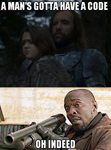 Omar Game of Throne meme
