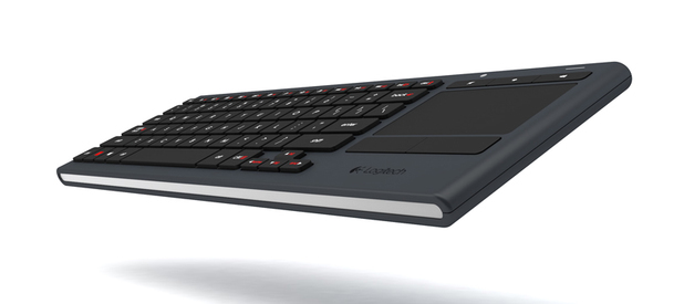 Logitech's Illuminated Living-Room Keyboard