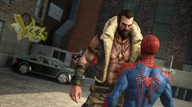 Kraven in The Amazing Spider-Man 2 video game