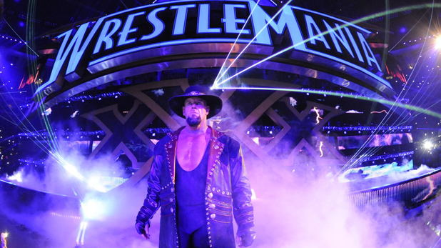 The Undertaker at WrestleMania XXX