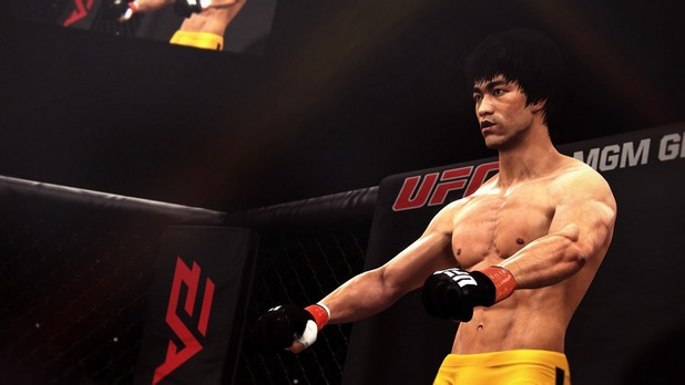 Bruce Lee on EA Sports UFC