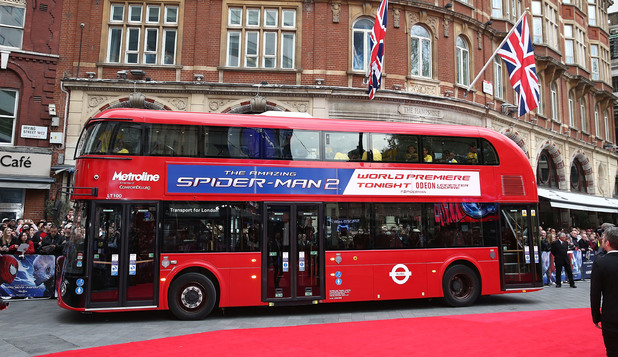 LONDON, ENGLAND - APRIL 10: Atmosphere at the World Premiere of 'The Amazing Spider-Man 2' at Odeon Leicester Square on April 10, 2014 in London, England. (Photo by Tim P. Whitby/Getty Images)