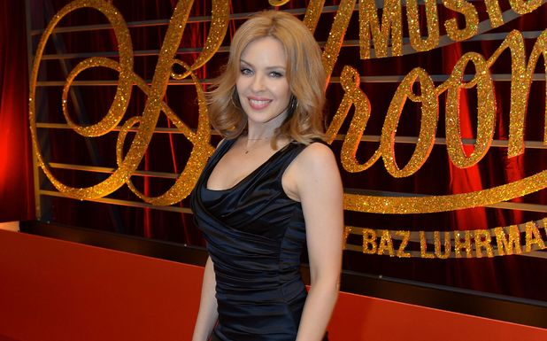 Kylie Minogue at the World premiere of Strictly Ballroom, the Musical,