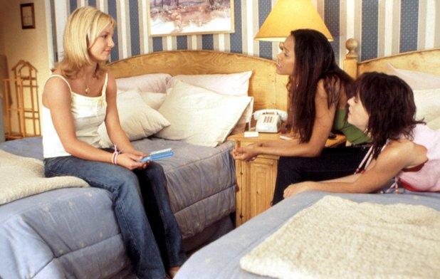 Britney Spears, Zoe Saldana & Taryn Manning in Crossroads (2002)