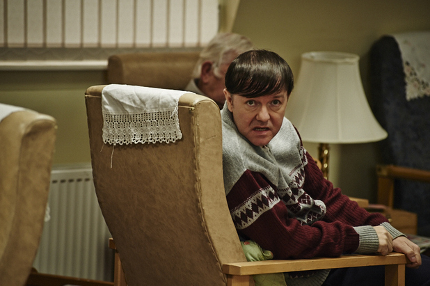 Ricky Gervais in Channel 4's 'Derek'