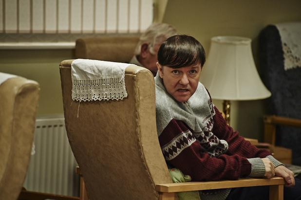 Ricky Gervais in Channel 4's 'Derek'