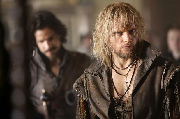 Marc Warren in The Musketeers series two.