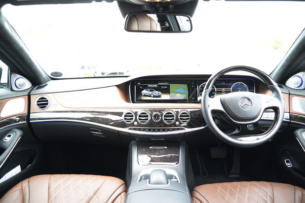 The Mercedes-Benz S Class