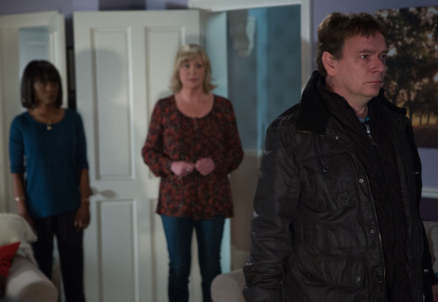 A broken Ian tells Jane and Denise that Lucy is dead