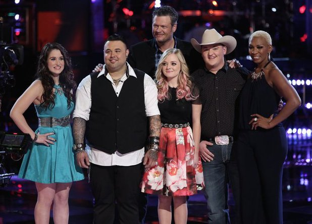 The Voice: Team Blake - Top 5