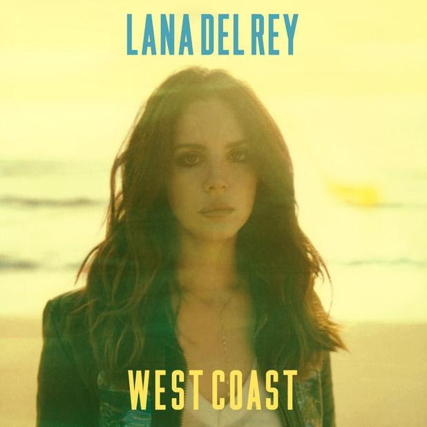 Lana Del Rey 'West Coast' artwork.