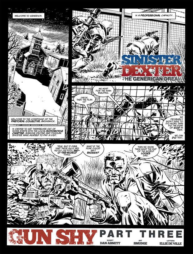 Sinister Dexter - Gun Shy
