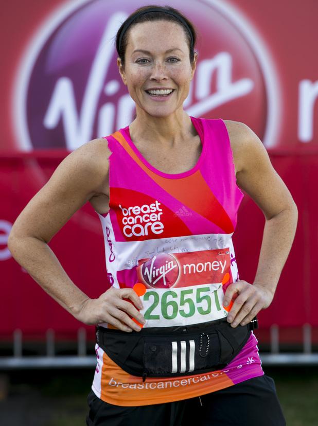 Amanda Mealing, - Virgin London Marathon 2014 - Digital Spy