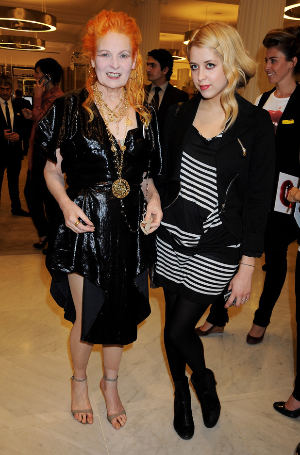 Peaches Geldof and Vivienne Westwood
