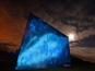 O2 creates UV-powered virtual Milky Way