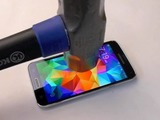 Galaxy S5 hammer test video