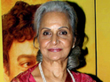 The veteran actress said she is content with her life away from films.