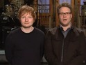 "Vanessa Bayer and Ed Sheeran share their ""redhead power"" in new SNL promos."