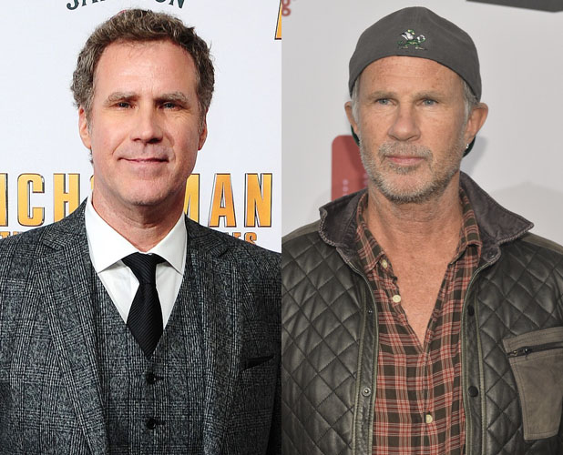 Chad Smith, Will Ferrell