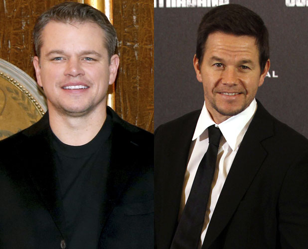 Matt Damon, Mark Wahlberg