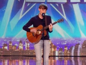 James Smith performs on Britain's Got Talent