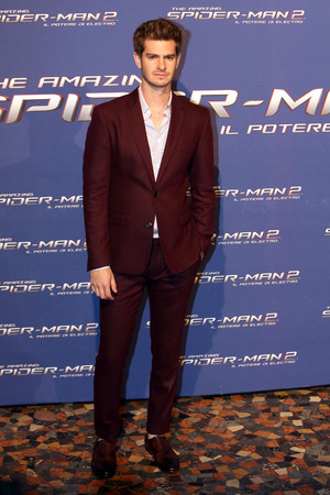 ROME, ITALY - APRIL 14: Andrew Garfield attends 'The Amazing Spider-Man 2: Rise Of Electro' Rome Premiere on April 14, 2014 in Rome, Italy. (Photo by Franco Origlia/Getty Images)