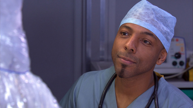 Don Gilet as Jesse Law in Holby City