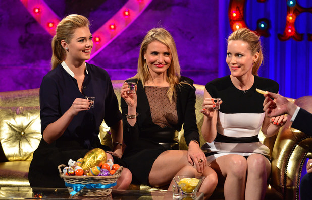 Cameron Diaz, Kate Upton, Leslie Mann on Chatty Man