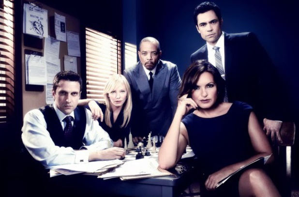 The cast of Law & Order: SVU