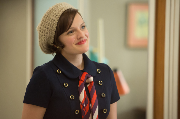Elisabeth Moss as Peggy Olsen in Mad Men S07E01: 'Time Zones'