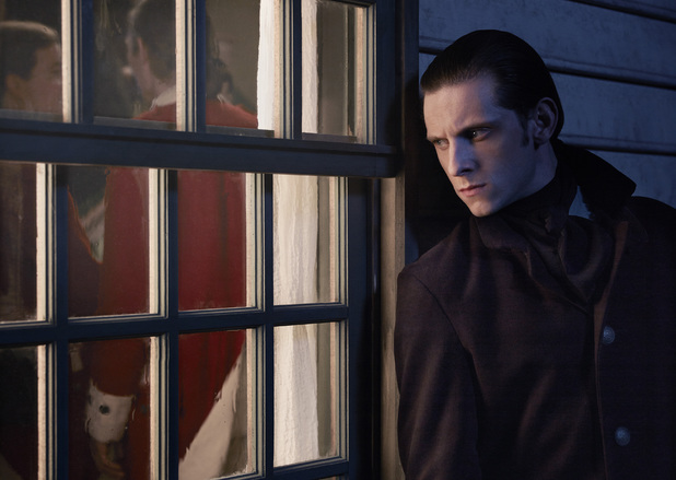 Jamie Bell as Abe Woodhull in AMC's Turn