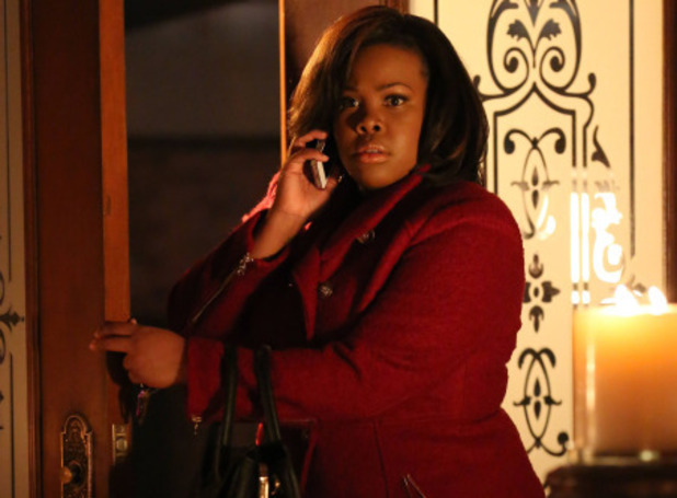Amber Riley as Mercedes in Glee S05E15: 'Tested'