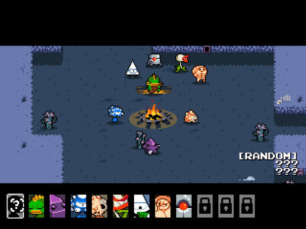 Screenshot from Nuclear Throne