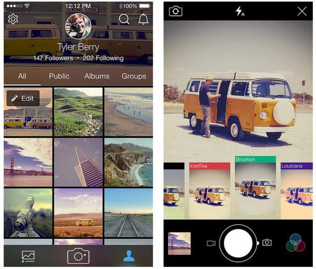Flickr app 3.0