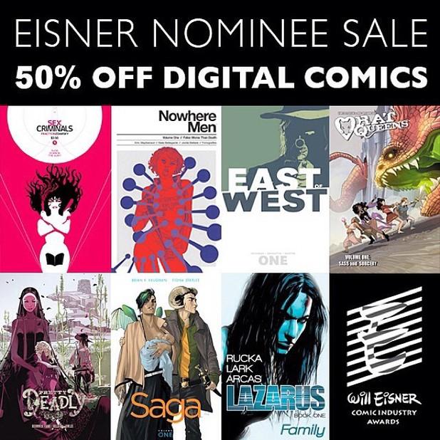 Image Comics' Eisner sale