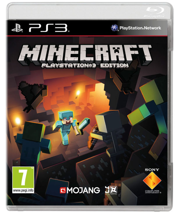 Minecraft: PlayStation 3 Edition Blu-ray boxart