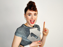 Kiesza with her Official Number 1 Award