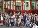 Ahead of the soap's upcoming whodunit plot, the current cast pose for a group picture.