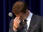 Andy Murray tears up as he's awarded freedom of Scottish city - video