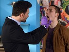 Lee is asked to provide a DNA sample in Friday night's episode.